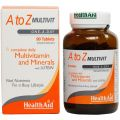Health Aid A to Z Multivitamin 90tabs